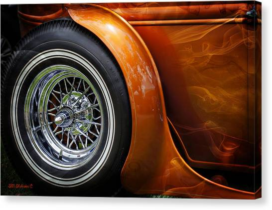 Hot Oldies Canvas Print