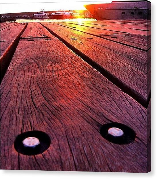 Yachts Canvas Print - #igers #igdaily #instagood #instamood by Highsam Achkar