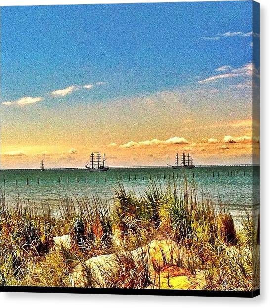Sailboats Canvas Print - Instagram Photo by Jonathan DuShane
