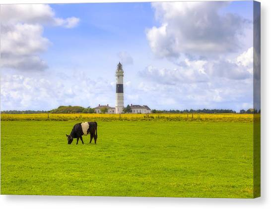 Friesland Canvas Print - Kampen - Sylt by Joana Kruse