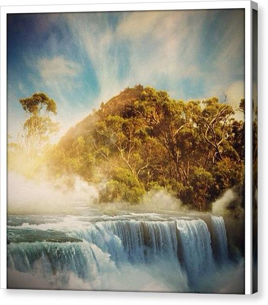 Wilderness Canvas Print - #mountain #mountains #sky #beautiful by Stealth One