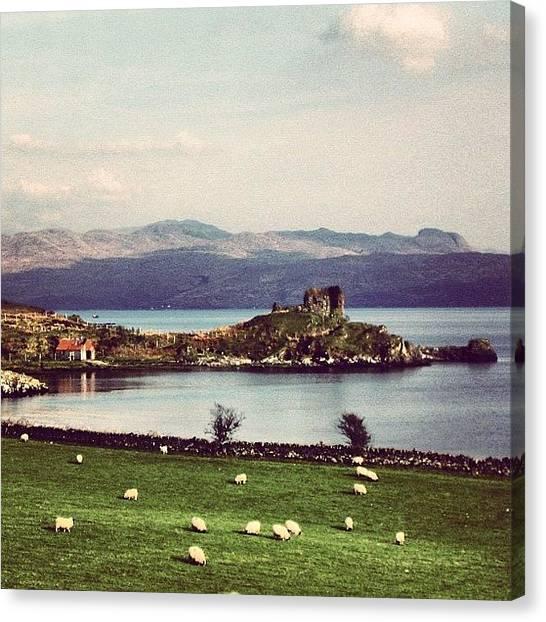 Fantasy Canvas Print - Scotland by Luisa Azzolini
