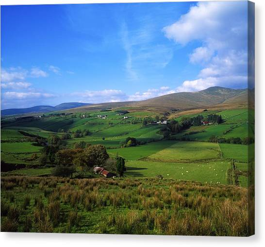St Patrick Day Canvas Print - Sperrin Mountains, Co Tyrone, Ireland by The Irish Image Collection
