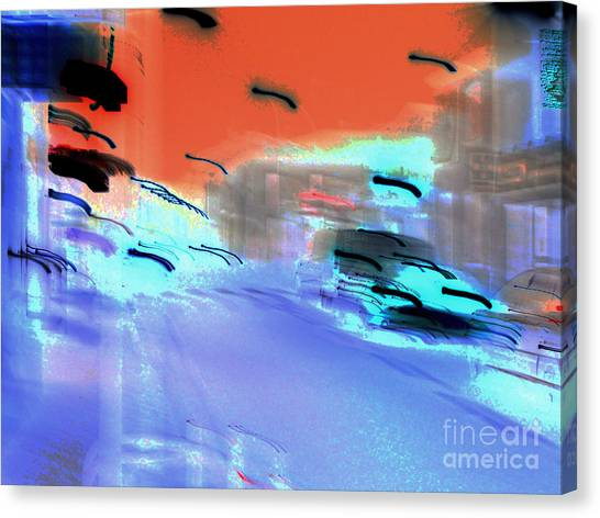 Street-2012 Canvas Print by Peter Szabo
