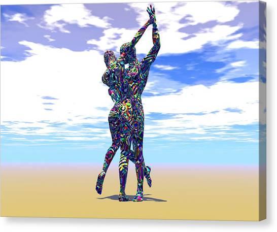 Surreal Dance Canvas Print