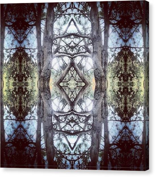 Art Deco Canvas Print - #tagstagram .com #abstract #symmetry by Dan Coyne
