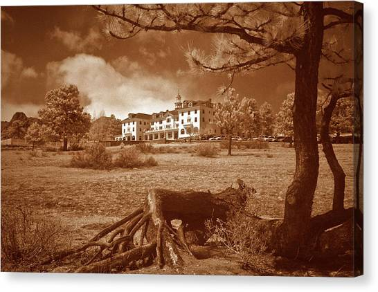 The Stanley Hotel Canvas Print by G Wigler