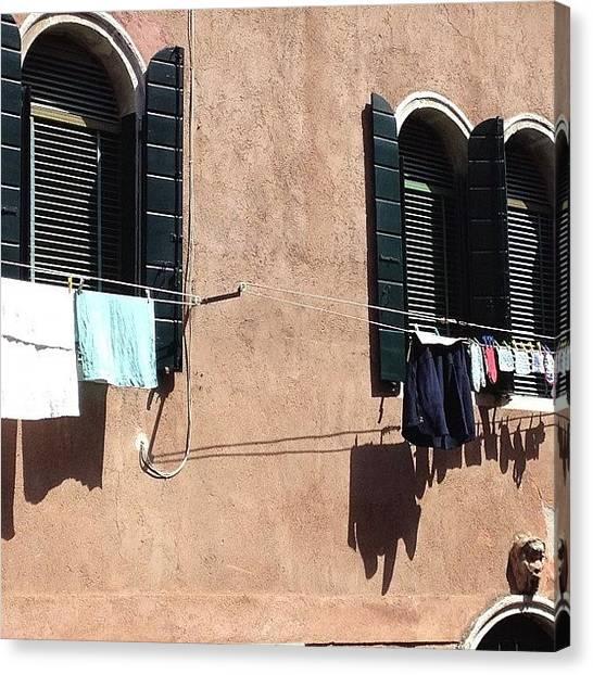 House Canvas Print - Venice Italy  by Irina Moskalev
