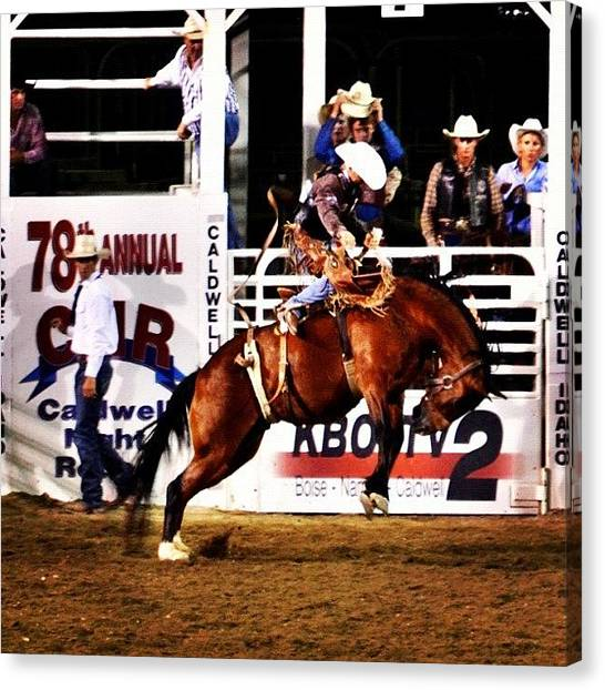 Rodeos Canvas Print - Love This Picture? Check Out My Gallery by Jason Thueson