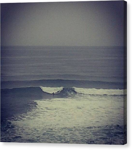 Surfing Canvas Print - #30likes by David R