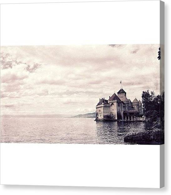 Swiss Canvas Print - Instagram Photo by Salem Mohammed