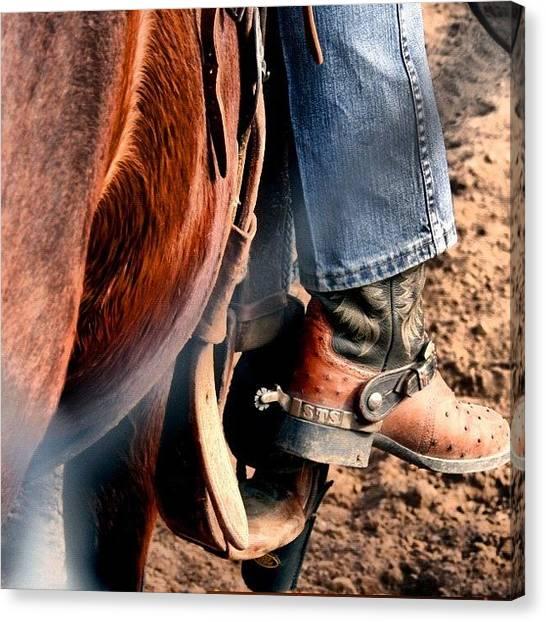 Rodeos Canvas Print - #statigram #webstagram ##wondershots by Marco Prado
