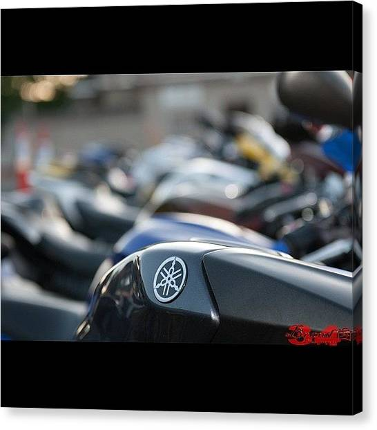 Yamaha Canvas Print - #34 #brand34photography #nevada #d90 by James Crawshaw