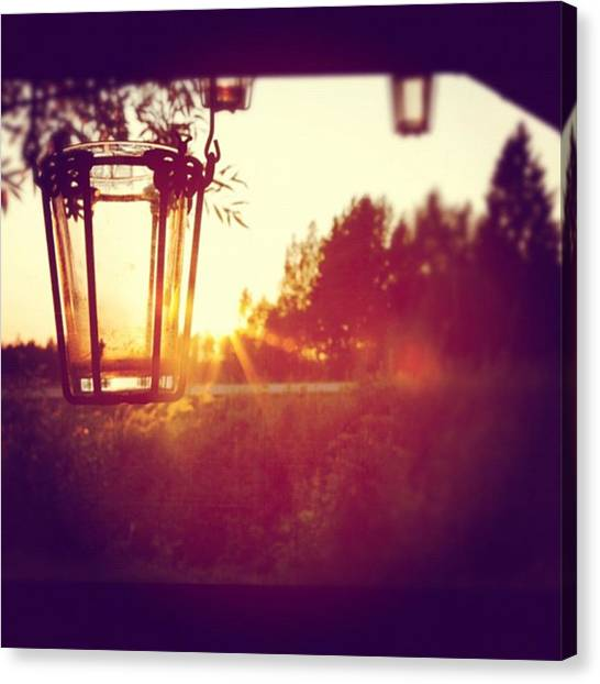 Sunsets Canvas Print - Instagram Photo by Ritchie Garrod