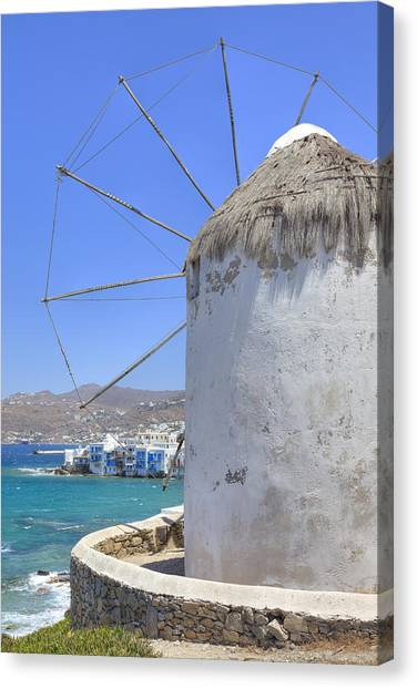 Greece Canvas Print - Mykonos by Joana Kruse