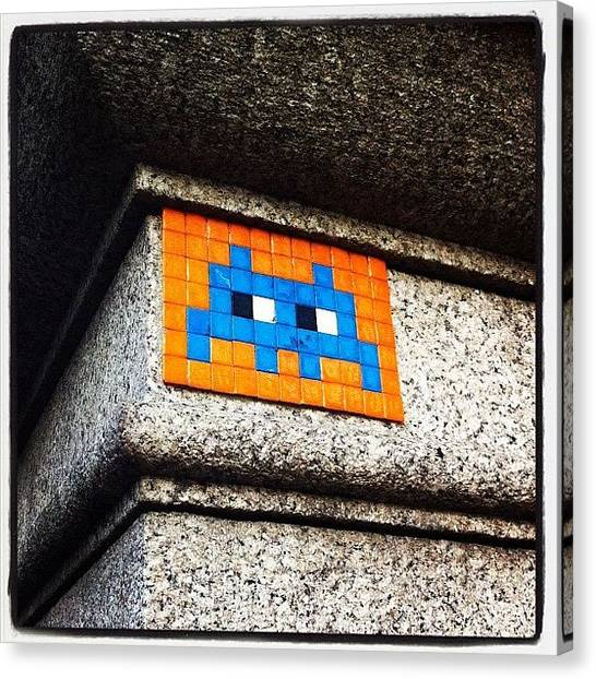 Atari Canvas Print - Instagram Photo by Sebastiaan Van der Graaf