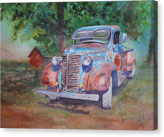 '38 Chevy Canvas Print