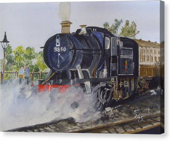 3850 Canvas Print
