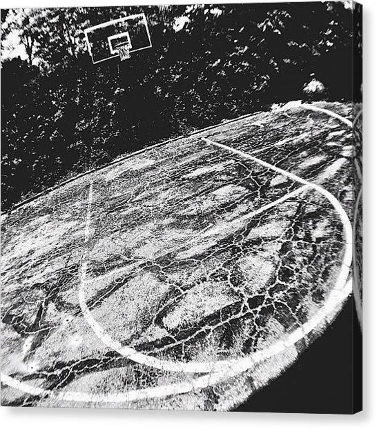 Basketball Teams Canvas Print - Instagram Photo by Brandon L. Harris