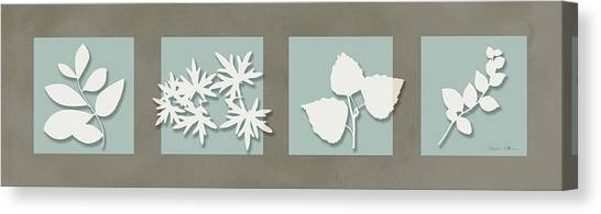 4 Flowers Canvas Print by Nomi Elboim
