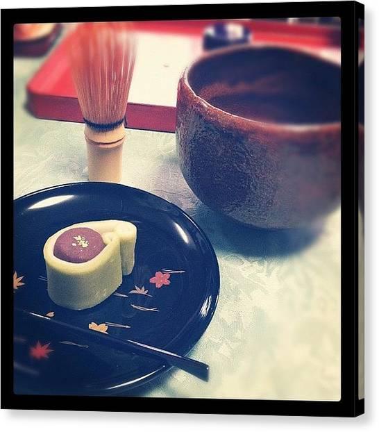 Sweet Tea Canvas Print - Instagram Photo by Maki Saruwatari