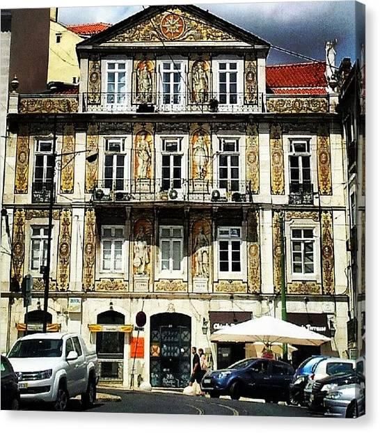 Soccer Leagues Canvas Print - Lisbon, Portugal #lisbon #lisboa by Jorge Silveira Sousa