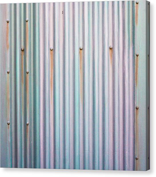 Placard Canvas Print - Metal Background by Tom Gowanlock