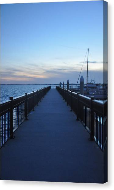 Pensacola Bay Canvas Print
