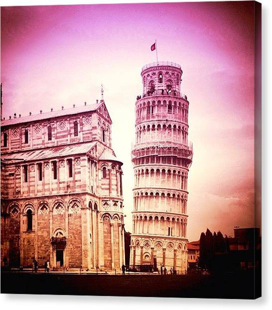 Italian Canvas Print - Pisa by Luisa Azzolini
