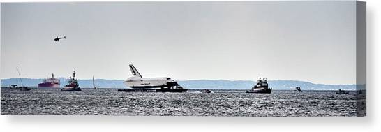 Shuttle Enterprise Canvas Print by Roni Chastain