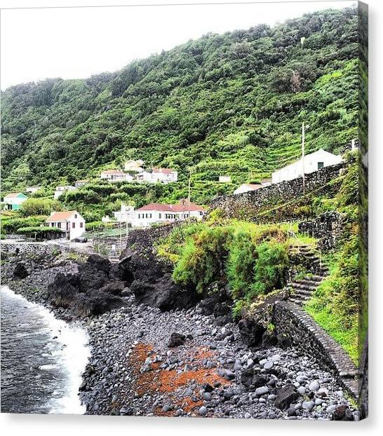 Soccer Leagues Canvas Print - São Jorge Island, Azores, Portugal by Jorge Silveira Sousa