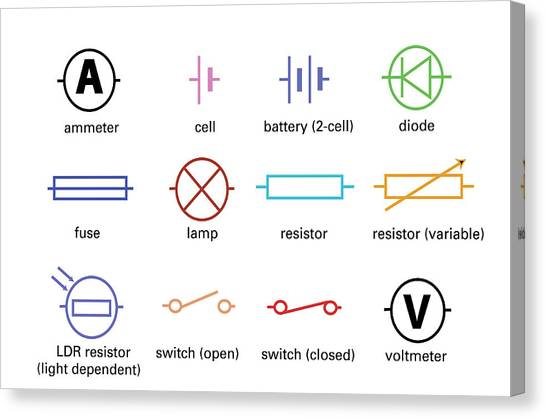 Symbol Photograph Standard Electrical Circuit Symbols By Sheila