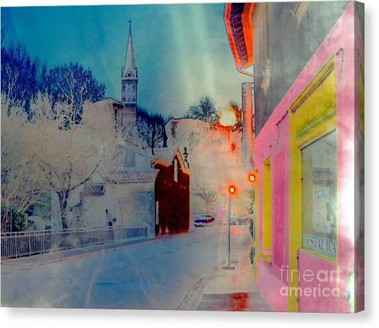 Street-2012 Canvas Print by Peter Szabo