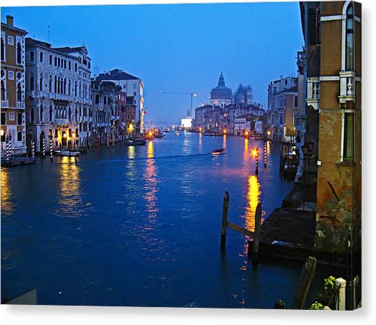 Venice Italy Fine Art Print Canvas Print by Ian Stevenson