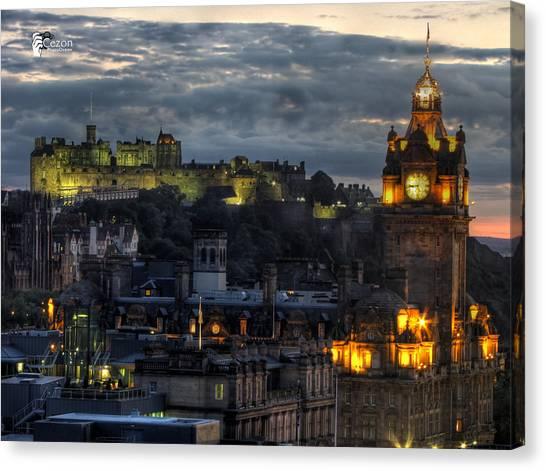 View Of Scotland Canvas Print by Jose Luis Cezon Garcia