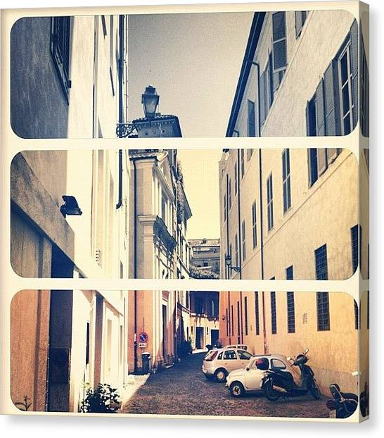 Rome Canvas Print - Instagram Photo by Matteo Zanetti