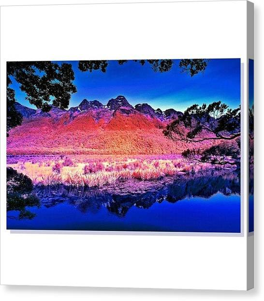 Scenic Canvas Print - Instagram Photo by Tommy Tjahjono