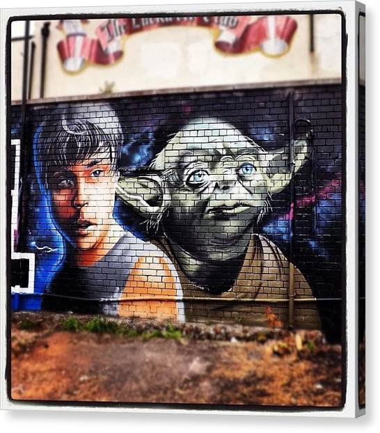 Yoda Canvas Print - Instagram Photo by Nigel Brown