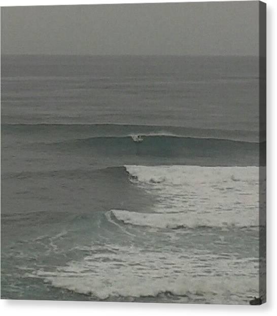 Surfing Canvas Print - Instagram Photo by David R