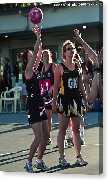 Australian Deaf Games 2012 Canvas Print by Edan Chapman