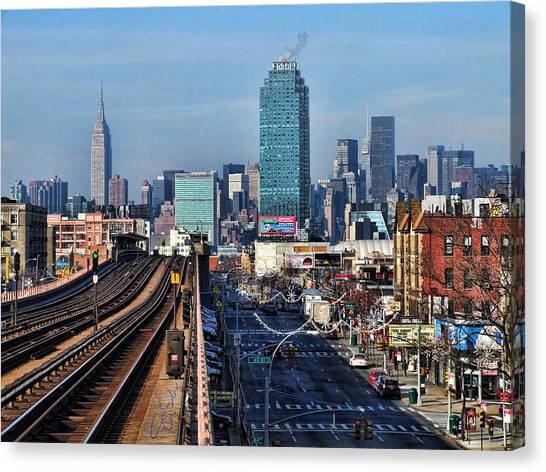 46th And Bliss Canvas Print