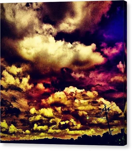 Purple Canvas Print - Instagram Photo by Katie Williams