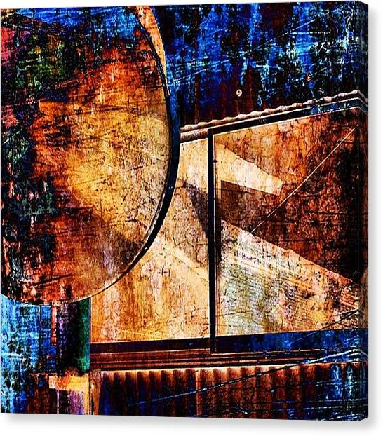Geese Canvas Print - #art #photoart #abstract #implus_daily by Douglas Delong
