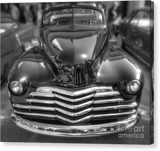 48 Chevy Convertible Canvas Print