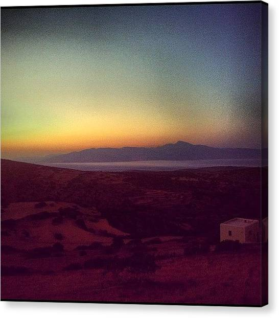 Mars Canvas Print - Instagram Photo by Kali Stara