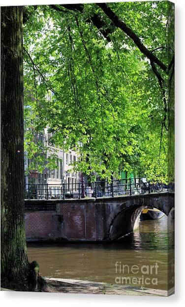 Amsterdam Canvas Print by Sophie Vigneault