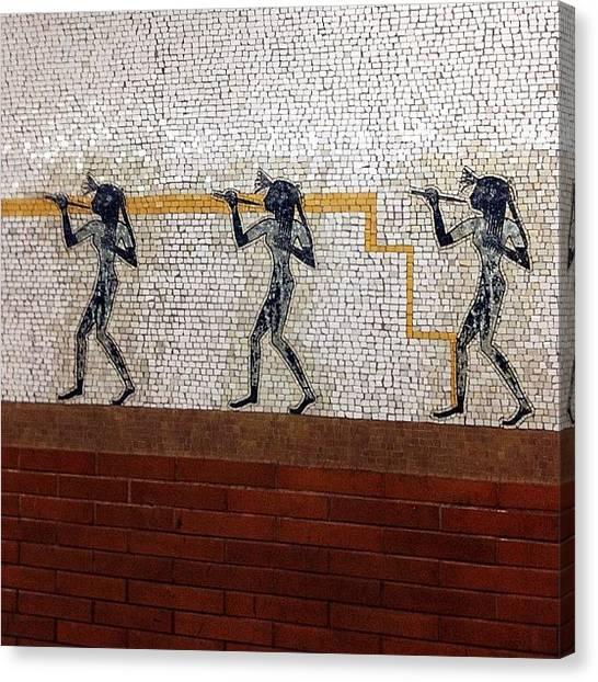 Subway Canvas Print - 'artemis, Acrobats, Divas & Dancers' by Natasha Marco