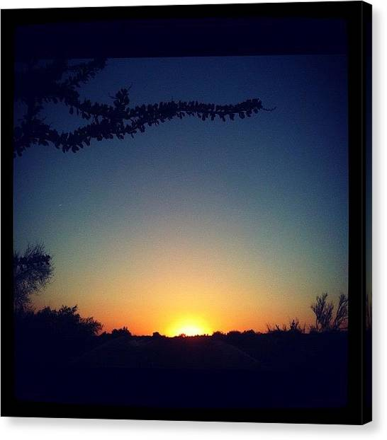 Sonoran Desert Canvas Print - Instagram Photo by Christian Hall