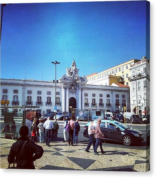 Soccer Leagues Canvas Print - Lisbon | Lisboa, Portugal. #lisbon by Jorge Silveira Sousa