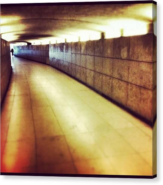 Tunnels Canvas Print - #paris by Ritchie Garrod